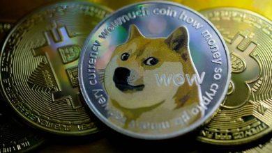 صورة ايلون ماسك يسأل متابعيه عن قبول تيسلا لعملة Dogecoin