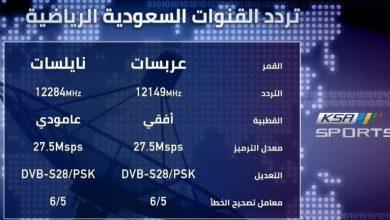 صورة تردد قناة السعودية الرياضية الجديد 2021 بتقنية HD و SD لمتابعة مباراة الهلال والأهلي