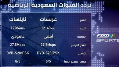 صورة أحداثيات تردد قناة السعودية الرياضية 2021 لمتابعة مباريات الدوري السعودي اليوم 30 مايو