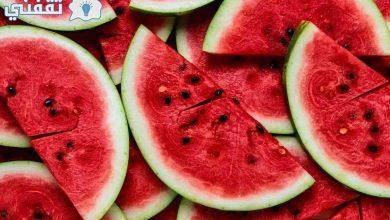 صورة تطبيق بطيختي   اعرف بطيختك قرعة أم حمراء اللون مع نصائح لشراء البطيخ