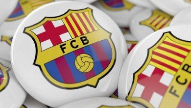صورة تعافي نجم برشلونة بعد الإصابة