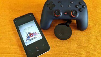 جوجل لديها طريقة للتحكم بألعاب Stadia عبر التلفاز بهاتفك