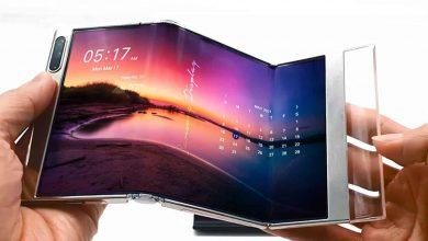 سامسونج تعرض تقنية شاشات جديدة قابلة للطي
