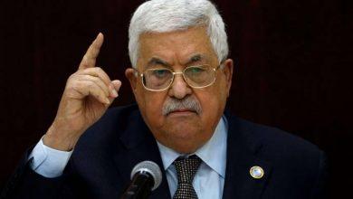 صورة الرئيس عباس يهنئ الرئيس السوري لانتخابه لولاية رئاسية جديدة