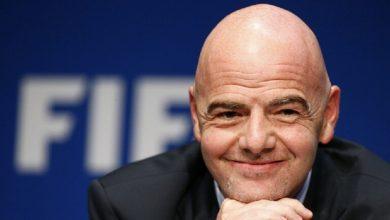 صورة فوز رئيس الفيفا القضية المرفوعة ضده في سويسرا