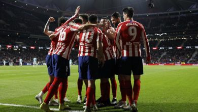 صورة لحظة بلحظة : مباراة أتلتيكو مدريد وريال بلد الوليد الجولة 38 الدوري الإسباني