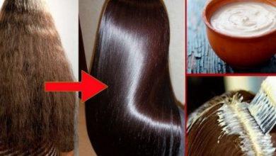 صورة وصفات طبيعية بديلة لبروتين الشعر للحصول على شعر ناعم