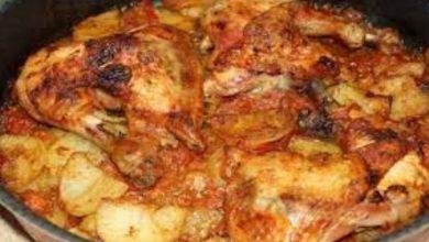 صورة سر طاجن الفراخ بالبطاطس الخطير في الفرن مثل المطاعم الكبيرة