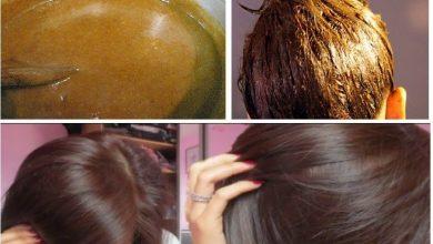 صورة حولي لون شعرك بملعقة كركم طريقة صبغ الشعر في المنزل طبيعي بلون جذاب وثابت