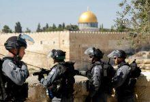 صورة الاحتلال يدفع بتعزيزات كبيرة إلى القدس المحتلة خشية من تدهور الاوضاع