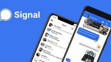 صورة Signal استخدام بيانات إعلانات فيسبوك ضدها