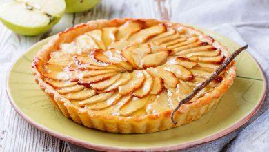 صورة أسهل طريقة لعمل تارت التفاح الشهي في المنزل بكل أسراره