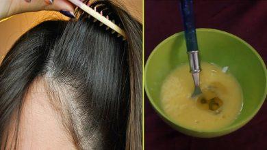 صورة المكون العجيب ضعيه في الشامبو لتطويل الشعر بسرعه الصاروخ لن يتوقف شعرك عن النمو