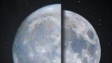 """صورة """"فلكية جدة"""": سماء المملكة ستشهد أقرب بدر عملاق الأربعاء المقبل.. ولهذا السبب سيكون باللون البرتقالي"""