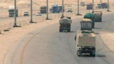 صورة وزير النقل يعتمد تعديل اللائحة المنظمة لنشاط نقل البضائع ووسطاء الشحن