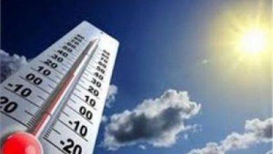 """صورة """"الأرصاد"""" ينبه من ارتفاع درجات الحرارة إلى 48 مئوية على منطقتين اعتباراً من الغد"""
