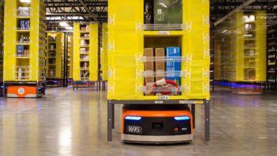 أمازون تتحدث عن روبوتات المستودعات الجديدة