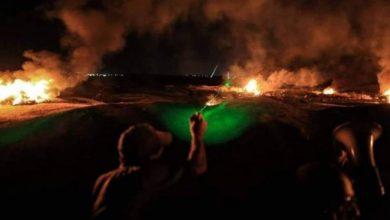 صورة بيت دجن تتبنى أسلوب 'الارباك الليلي' في المقاومة الشعبية ضد الاستيطان