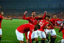 صورة منتخب مصر الأولمبي يخوض مباراة قوية أمام نظيره الجنوب أفريقي