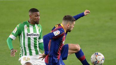 صورة برشلونة يعيد إيمرسون من ريال بيتيس للنادي