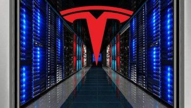 تيسلا تكشف عن حاسوب عملاق يصنف الخامس عالميًا