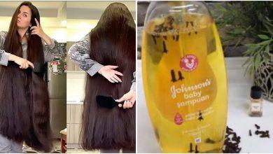 صورة الملعقة السحرية ضعيها على الشامبو لتكثيف الشعر بغزارة وانبات الفراغات