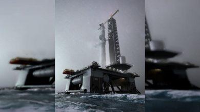 شركة SpaceX تبني أول ميناء فضاء محيطي