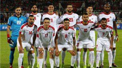 صورة ملخص نتيجة مباراة فلسطين وسنغافورة اليوم والقنوات المفتوحة الناقلة وترتيب المجموعة