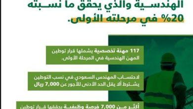 صورة قرار توطين المهن بالسعودية في مجموعة من المجالات مثل مهن الاتصالات وتقنية المعلومات والهندسة