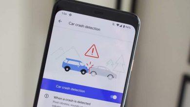 كيفية تفعيل ميزة اكتشاف الحوادث في هاتف بيكسل
