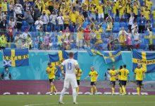 """صورة لأول مرة منتخب السويد يفوز في أمم أوروبا """"يورو 2020 """""""