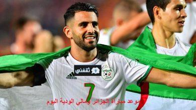 صورة الآن موعد مباراة الجزائر ومالي الودية الأحد 2021/06/06 والقناة الناقلة وتشكيل الجزائر المتوقع للقاء