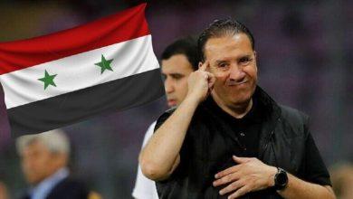 صورة لحظة وداع نبيل معلول المنتخب السوري