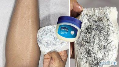 صورة وصفة الفازلين لإزالة شعر العانة من الجذور بدون ألم دون رجوعة مرة أخري