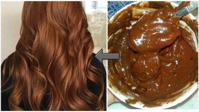 صورة طريقة صبغ الشعر باللون البني المحمر بمكون طبيعي في منزلك بدون تكاليف وأضرار