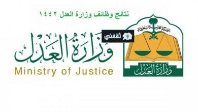 صورة رابط وزارة العدل moj,gov.sa للاستعلام عن أسماء المقبولين على وظيفة باحث شرعي وباحث قانوني