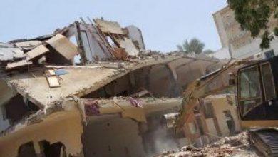 صورة تنفيذاً لحكم قضائي.. إزالة منزل مواطن تعدى على أرض حديقة عامة في جدة