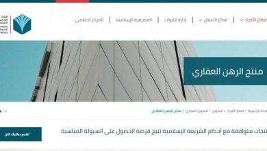صورة رابط تمويل الرهن العقاري عبر البنك السعودي الفرنسي