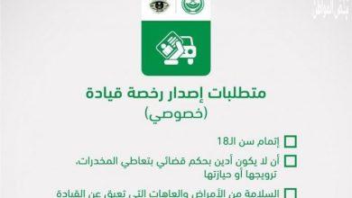 صورة إصدار رخصة القيادة بالمملكة العربية السعودية