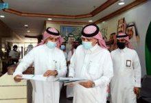 صورة وزير الإعلام المكلف يتفقد فرع الوزارة بالمنطقة الشرقية