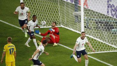 صورة إنجلترا تفوز على أوكرانيا في ربع نهائي أمم أوروبا