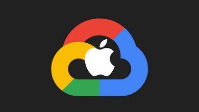 8 مليون تيرابايت من بيانات مستخدمي iCloud مخزنة على خوادم قوقل
