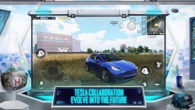 PUBG Mobile تضيف سيارة تيسلا Model Y