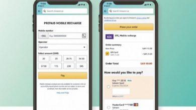 صورة ميزة مبتكرة عبر أمازون stc تتيح إمكانية شحن بطاقات سوا