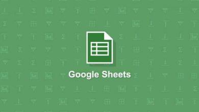جداول بيانات جوجل تقترح تلقائيًا صيغًا ووظائف