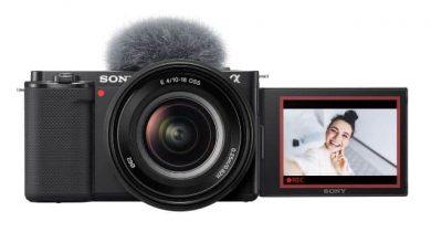 سوني تعلن عن كاميرا ZV-E10 لمدوني الفيديو