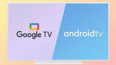 مقارنة بين Google TV و Android TV