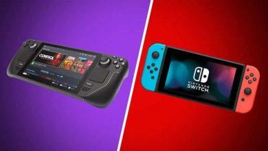 مقارنة بين جهازي Nintendo Switch و Steam Deck