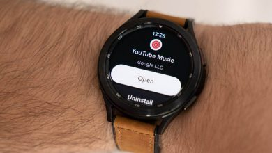 استخدام تطبيق موسيقى يوتيوب في ساعة أندرويد