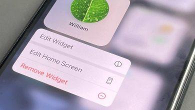 الأدوات المصغرة الجديدة في iOS 15
